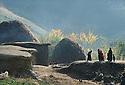 Iran 1979.L'automne dans un village kurde.Iran 1979.A Kurdish village in autumn