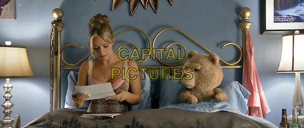 Jessica Barth, Ted (voice of Seth MacFarlane) <br /> in Ted 2 (2015)  <br /> *Filmstill - Editorial Use Only*<br /> CAP/FB<br /> Image supplied by Capital Pictures