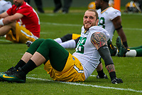 Green Bay Packers tackle Jason Spriggs (78) during an Organized Team Activity on May 23, 2017 at Clarke Hinkle Field in Green Bay, Wisconsin.  (Brad Krause/Krause Sports Photography)