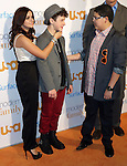 """Ariel Winter, Nolan Gould and Rico Rodriguez at the """"Modern Family Fan Appreciation Day"""" held at Westwood Village Theater Los Angeles, Ca. October 28, 2013."""