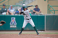 Dartmouth Big Green pinch hitter Justin Murray (6) at bat during a game against the USF Bulls on March 17, 2019 at USF Baseball Stadium in Tampa, Florida.  USF defeated Dartmouth 4-1.  (Mike Janes/Four Seam Images)