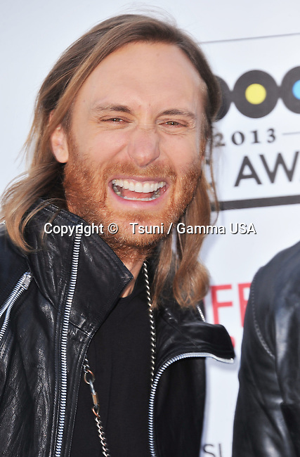 David Guetta  at the Billboard Music Aw. 2013 at the MGM Grand In Las Vegas.