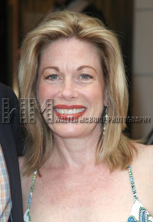 Marin Mazzie.attending the Opening Night Performance of The Masnhattan Theatre Club's  'Master Class' at the Samuel J. Friedman Theatre in New York City.
