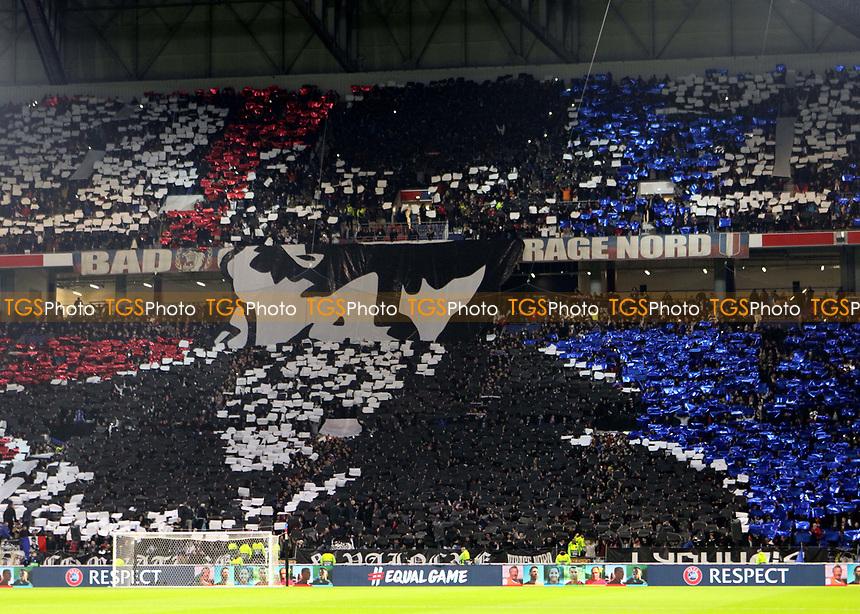 Lyon fans ahead of kick-off during Lyon vs Manchester City, UEFA Champions League Football at Groupama Stadium on 27th November 2018