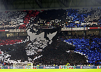 Lyon fans ahead of kick-off during Lyon vs Manchester City, UEFA Champions League Football at Groupama Stadium on 27th November 2018