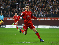 Robert Lewandowski (FC Bayern Muenchen) - 22.12.2018: Eintracht Frankfurt vs. FC Bayern München, Commerzbank Arena, DISCLAIMER: DFL regulations prohibit any use of photographs as image sequences and/or quasi-video.