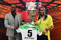 Picture by Alex Broadway/SWpix.com - 28/05/2019 - Rugby League - RLWC 2021 Nigerian High Commission Visit, London, England.