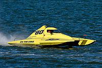 "Pat Haworth, S-80 ""On The Edge""            (2.5 Litre Stock hydroplane(s)"