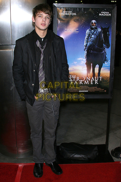 "MAX THERIOT.""The Astronaut Farmer"" World Premiere - Arrivals held at the Cinerama Dome, Hollywood, California , USA, .20 February 2007..full length.CAP/ADM/ZL.©Zach Lipp/AdMedia/Capital Pictures."