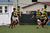 Premier 4 College Rugby - St Bernard's College 2nd XV v Mana College 2nd XV at St Bernard's College, Lower Hutt, New Zealand on Saturday 1 August  2020. <br /> Photo by Masanori Udagawa. <br /> www.photowellington.photoshelter.com