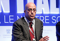 Carlo Tamburi ( enel ) durante il XXIX convegno di Capri per Napoli   dei  Giovani Industriali a Citta della Scienza , 25 Ottobre 2014