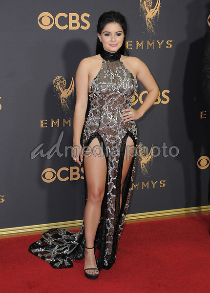 17 September  2017 - Los Angeles, California - Ariel Winter. 69th Annual Primetime Emmy Awards - Arrivals held at Microsoft Theater in Los Angeles. Photo Credit: Birdie Thompson/AdMedia