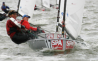 20th SPA Regatta - Medemblik.26-30 May 2004..Copyright free image for editorial use. Please credit Peter Bentley..Ditte Juul - DEN