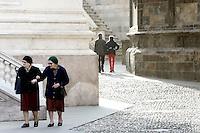 Una scorcio nei pressi di Piazza Vecchia a Bergamo.<br /> Street scene near Piazza Vecchia, Bergamo.<br /> UPDATE IMAGES PRESS/Riccardo De Luca