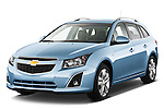 Front three quarter view of a 2013 Chevrolet Cruze SW LTZ wagon