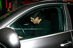 ....10-2-09  Exclusive    ..John Mayer leaving the Roger Room bar in Hollywood with an extremely red ear. Did John get punched?  ...AbilityFilms@yahoo.com.805-427-3519.www.AbilityFilms.com