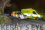 The scene of the rescue in Castleisland on Tuesday night