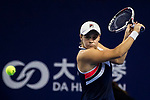 Ashleigh Barty of Australia hits a return during the singles semi final match of the WTA Elite Trophy Zhuhai 2017 against Coco Vandeweghe of United States at Hengqin Tennis Center on November  04, 2017 in Zhuhai, China. Photo by Yu Chun Christopher Wong / Power Sport Images