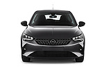 Car photography straight front view of a 2020 Opel Corsa Elegance 5 Door Hatchback