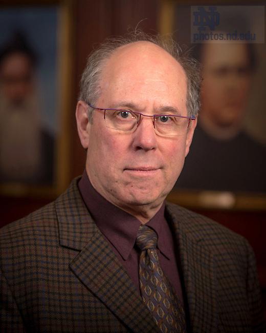 April 12, 2017; Stephen Fredman, Emeritus faculty portrait (Photo by Matt Cashore/University of Notre Dame)