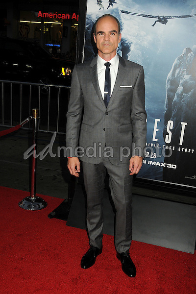 "9 September 2015 - Hollywood, California - Michael Kelly. ""Everest"" Los Angeles Premiere held at the TCL Chinese Theatre. Photo Credit: Byron Purvis/AdMedia"