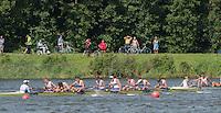 Rotterdam. Netherlands.  Junior Men's Eights Final.  Bronze Medalist GBR JM8+. Bow. Charlie PEARSON, Oskar ARZT-JONES, Dom JACKSON, Oliver AYRES, Patrick ADAMS, Benedict ALDOUS, Seb BENZECRY, Felix DRINKALL and Cox. Vlad SAIGAU,  2016 JWRC,  {WRCH2016}  at the Willem-Alexander Baan.   Sunay 28 /08/2016 <br /> <br /> [Mandatory Credit; Peter SPURRIER/Intersport Images]