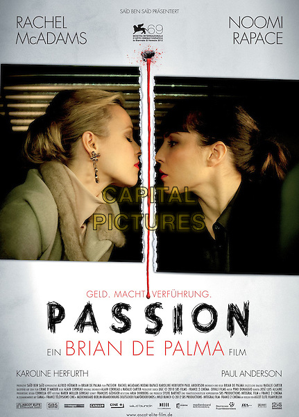 GERMAN POSTER ART<br /> in Passion (2012) <br /> *Filmstill - Editorial Use Only*<br /> CAP/FB<br /> Image supplied by Capital Pictures