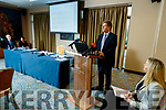 Gerard O'Callaghan (Chief Operations South/SouthWest Hospital Group), at a University Hospital Kerry press Conference at the Rose Hotel, Tralee on Wednesday.