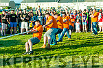 Ballybunion Annual Tug Of War: The Feale Bar  team that won the annual inter pub tug of war competition on the grounds of the old Castle Hotel grounds on Saturday evening last.