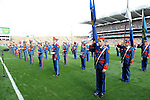 The Artane Boys Band at the start in the 2014 All-Ireland Football Final in 2014.<br /> Photo: Don MacMonagle<br /> <br /> Photo: Don MacMonagle <br /> e: info@macmonagle.com