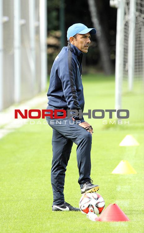 26.08.2014, Sportpark, Berlin, GER, 1.FBL, Hertha BSC , Training, im Bild Cheftrainer (Head Coach) Jos Luhukay (Hertha BSC Berlin)<br /> <br />               <br /> Foto &copy; nordphoto /  Engler