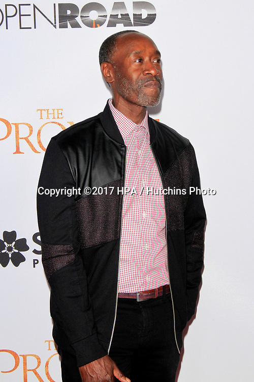 "LOS ANGELES - APR 12:  Don Cheadle at the ""The Promise"" Premiere at the TCL Chinese Theater IMAX on April 12, 2017 in Los Angeles, CA"