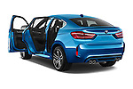 Car images close up view of a 2018 BMW X6 M 4 Door SUV doors