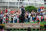 People attend the HKJC Community Festival 2015 at Sha Tin Racecourse on April 03 2015 in Hong Kong, China. Photo by Xaume Olleros / Power Sport Images