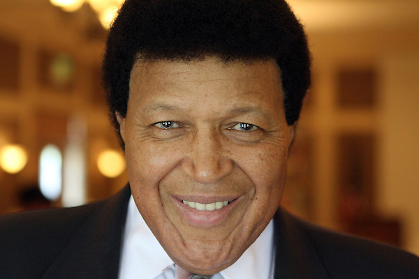 L.Chubby.1.0719.jl.jpg/photo Jamie Scott Lytle/Legiondary musical artist Chubby Checker age 69, best known for his smash 1960 hit The Twist, mugs for the camera Monday before speaking to the Rancho Santa Fe Rotary Club's meeting held at the Inn at Rancho Santa Fe. Mr. Checker was in town for a big fundraiser held at a private home later in the evening. ( i shot a close up to show how good he looked)