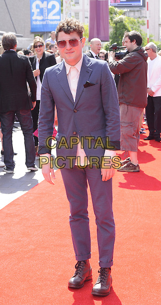 "Mathew Horne.The World Film Premiere of ""Horrid Henry: The Movie"" at BFI Southbank, London, England..July 24, 2011.full length mat blue suit jacket white shirt  sunglasses shades.CAP/CAN.©Can Nguyen/Capital Pictures."