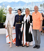 "CANNES, FRANCE. May 15, 2019: Tilda Swinton, Selena Gomez, Chloe Sevigny & Bill Murray at the photocall for ""The Dead Don't Die"" at the 72nd Festival de Cannes.<br /> Picture: Paul Smith / Featureflash"