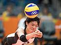 Haruka Miyashita (JPN), AUGUST 12, 2016 - Volleyball : Women's Preliminary Pool A between Russia 3-0 Japan 3-0 at Maracanazinho during the Rio 2016 Olympic Games in Rio de Janeiro, Brazil. (Photo by Enrico Calderoni/AFLO SPORT)