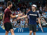 ATP-DOUBLES-FINALS<br /> <br /> 2017 BRISBANE INTERNATIONAL, PAT RAFTER ARENA, BRISBANE TENNIS CENTRE, BRISBANE, QUEENSLAND, AUSTRALIA<br /> <br /> <br /> &copy; TENNIS PHOTO NETWORK