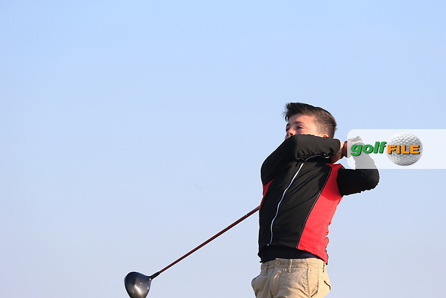 Eoghan McGinnity (Rossmore) during the Ulster U16 Close Championship 2015, Portstewart Golf Club, Portstewart, Co Londonderry, Ireland.<br /> Picture: Fran Caffrey / Golffile