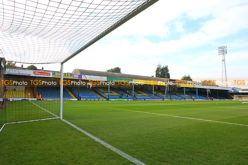 General view of the ground during Southend United vs Shrewsbury Town, Sky Bet EFL League 1 Football at Roots Hall on 29th October 2016