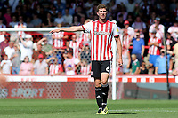Chris Mepham of Brentford and Wales during Brentford vs Rotherham United, Sky Bet EFL Championship Football at Griffin Park on 4th August 2018