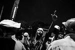 February 03, 2008. New Orleans, LA.. Mardi Gras Indian practice at the Wild Magnolia Club..