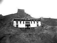 Exterior grand view of Shigatse Tashilhunpo Monastery Tibet