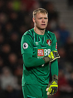 Bournemouth's Aaron Ramsdale<br /> <br /> Photographer David Horton/CameraSport<br /> <br /> The Premier League - Bournemouth v Wolverhampton Wanderers - Saturday 23rd November 2019 - Vitality Stadium - Bournemouth<br /> <br /> World Copyright © 2019 CameraSport. All rights reserved. 43 Linden Ave. Countesthorpe. Leicester. England. LE8 5PG - Tel: +44 (0) 116 277 4147 - admin@camerasport.com - www.camerasport.com