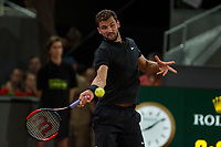 Grigor Dimitrov during the match of the Charity day previus at Madrid Open Tenis 2017in  Madrid, Spain. May 04, 2017. (ALTERPHOTOS/Rodrigo Jimenez) /NORTEPHOTO.COM
