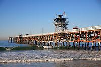 Lifeguard Tower on San Clemente Pier