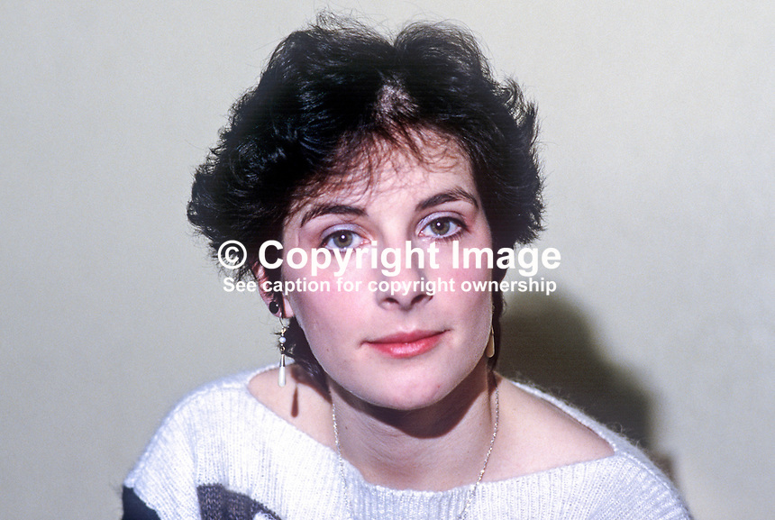 Enya Ni Bhraonain, aka Eithne Brennan, singer, composer, film scorist, formerly with Ckannad, 19861115ENB1..Copyright Image from Victor Patterson, 54 Dorchester Park, Belfast, United Kingdom, UK...For my Terms and Conditions of Use go to http://www.victorpatterson.com/Victor_Patterson/Terms_%26_Conditions.html
