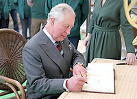 Prince Charles Visits Soane Britain Workshop