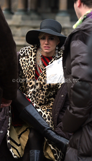 WWW.ACEPIXS.COM.........November 20 2006, New York City....British actress Sienna Miller was in Central Park with Jimmy Fallon and Guy Pearce shooting final scenes for the movie 'Factory Girl'. Miller plays Edie Sedgewick, a wealthy young woman who befriends Andy Warhol (Pearce).......Please byline: PHILIP VAUGHAN/ACEPIXS.COM....For information please contact Philip Vaughan:..tel: 212 243 8787 or 646 769 0430..e-mail: info@acepixs.com..website: www.acepixs.com